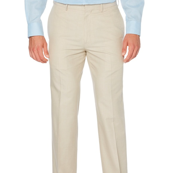 5dadf285 Cubavera Pants | Nwt 34x34 Mens Cotton Herringbone | Poshmark